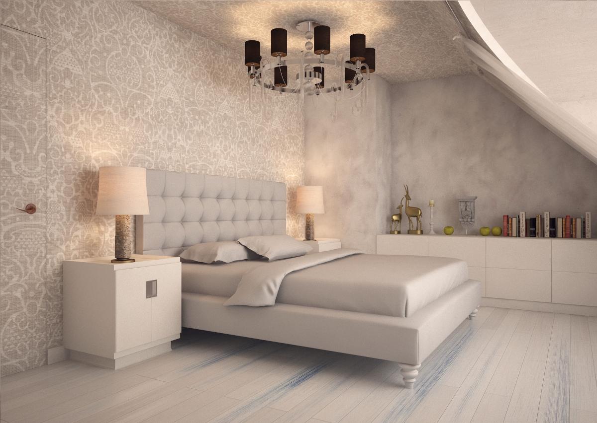 Люстры в спальню – выбор идеального осветительного прибора